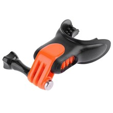 Teeth Braces Holder Mouth Mount with Floaty for GoPro Hero SJCAM Surfing Diving Ski Camera Accessories(China)