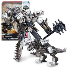 Transformers 5 Movie Voyager Class Optimus Prime Draad Touw Slot Megatron Detective Model Garage Kit(China)