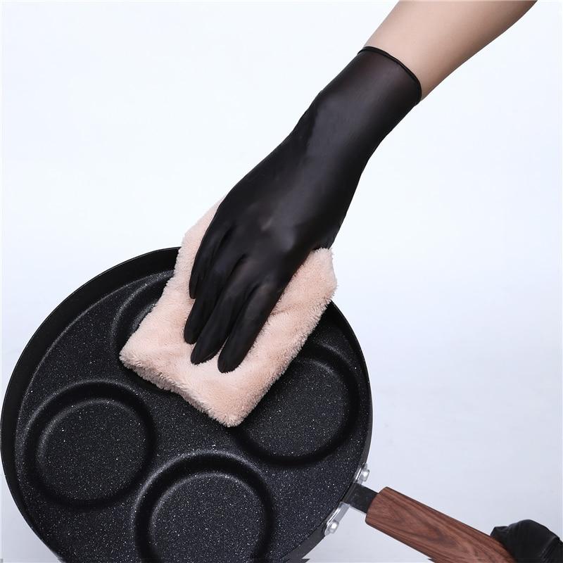High Quality Wholesale Cheap 100 Pcs/Box Food No-Toxic Powder Free Disposable Nitrile Gloves