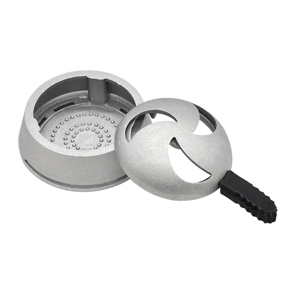 Metal Material Crescent Shape Hole Single Handle Accessories Windproof Tobacoo Hookah Shisha Charcoal Holder