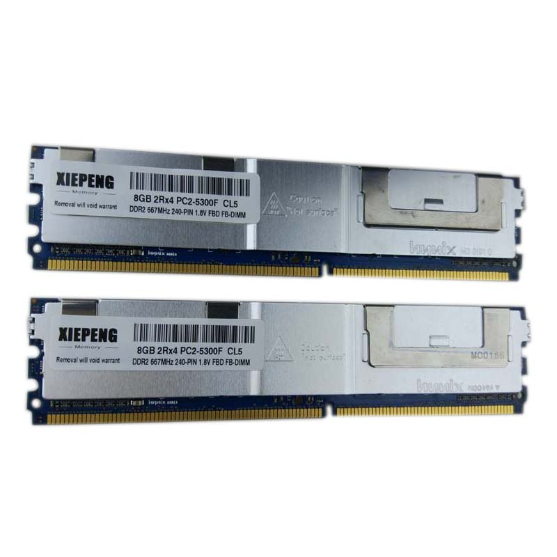 4GB Kit 2x2GB 667MHz Dell Poweredge 2950 Memory RAM DDR2-667MHz 240-pin FBDIMM