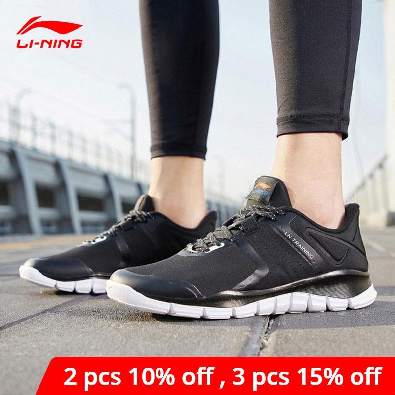 Li Ning/мужская спортивная обувь, 24H, светильник, без веса, Гибкая Удобная подкладка, li ning, спортивные кроссовки для фитнеса, AFHP003 YXX053|Обувь для фитнеса и кросс-фита|   | АлиЭкспресс