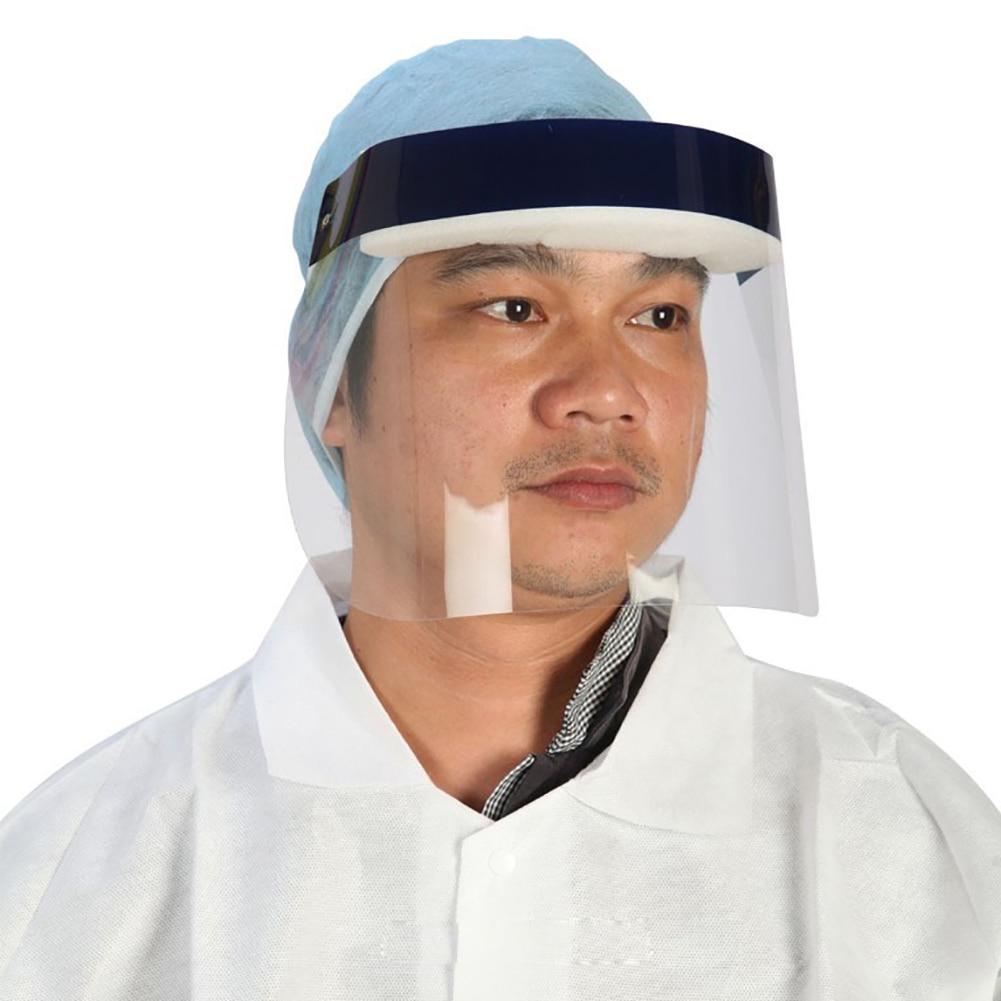 Transparent Protective Mask Anti-Fog Splash Oil-Splash Proof Full Face Mask Protect Shield Anti-UV Anti-Shock Safety Mask