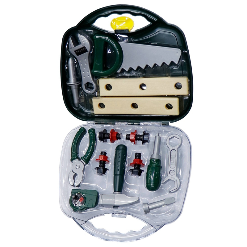 Hot-Toys Repair Tools Toys DIY Play House Repair Simulation Tools Toy Set For Children And Boys Gifts AS167992