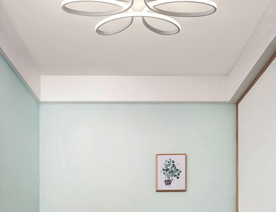 Hfd4cad7a17084f4683e0f76c6fa7e969d Modern LED Ceiling Lights Remote control for Living room Bedroom 78W 72W 90W 120W Aluminum boby indoor plafond Lamp flush mount