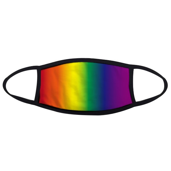 Gradient LGBT Rainbow Homo Face Anti-dust Mask Anti Cold Maske Gift