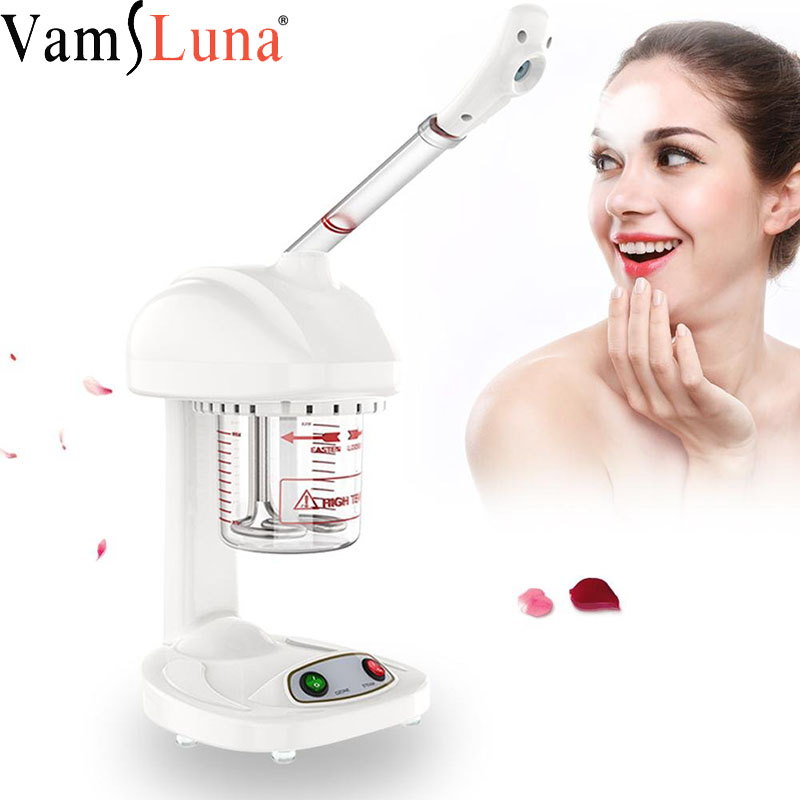 Ionic Spraying Machine, Advanced Facial Steamer Ozone Steaming Skin Care for Salon Spa and Home to Face Moisturizing Cleaning