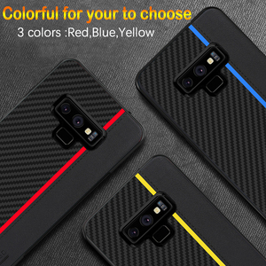 Image 3 - For Samsung Note 9 10 Plus 20 Ultra Case Carbon Fiber Protection Case For Samsung Galaxy S20 S8 S9 S10 5G Plus S10e A51 A71 Case