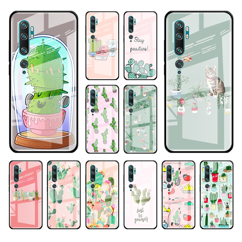 AAA Gehärtetem Glas Fall Für Xiaomi Mi Hinweis 10 Pro 9T CC9 A3 CC9E 8 Lite Poco X2 Fundas telefon Cubre Cas
