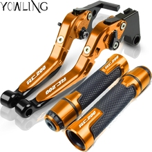 For KTM RC200 2014 2015 2016 2017 2018 2019 Motorcycle Accessories Extendable Brake
