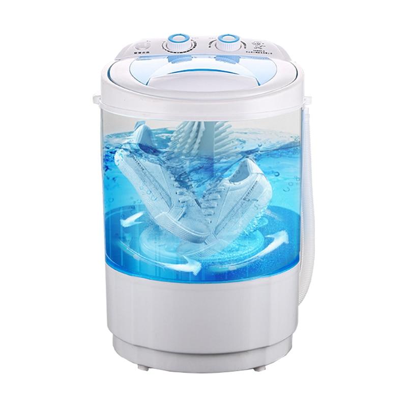 220v Shoe Washing Machine Small Home Intelligent Shoe Washer Mini Brush Washing Tools 2000W Remote Control Household Appliances