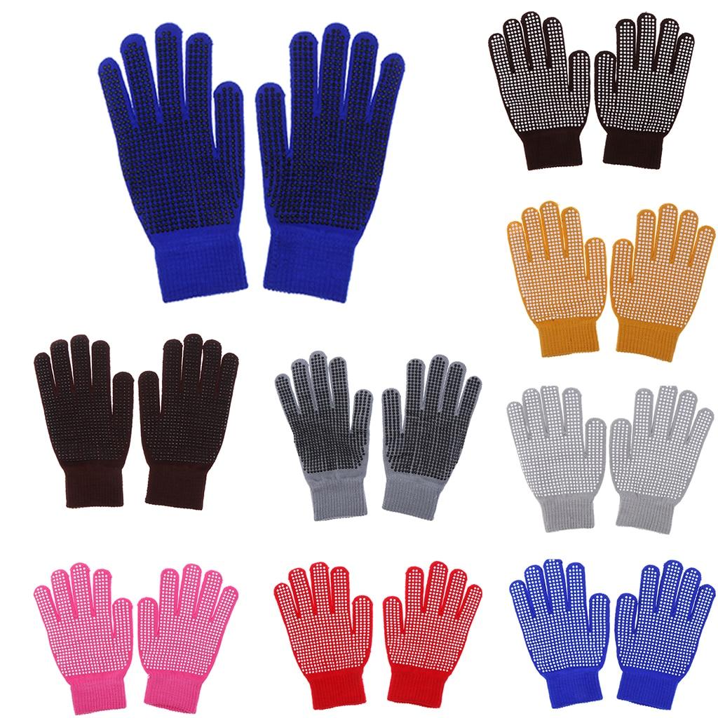 Тканые перчатки для конного спорта, аксессуары для конного спорта и верховой езды