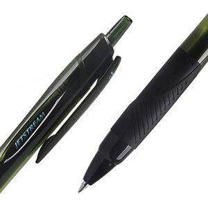 Image 3 - 6 шт./лот Mitsubishi Uni SXN 157S гладкая масляная ручка 0,7 мм наконечник JETSTREAM шариковая ручка письменные принадлежности для детей студентов