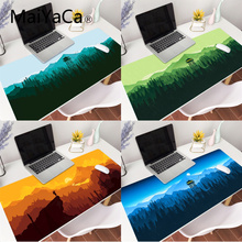MaiYaCa Deep forest firewatch Beautiful Anime Mouse Mat Gaming Mouse Pad Large Deak Mat for overwatch/cs go/world of warcraft