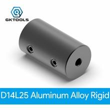 GKTOOLS D14L25 Aluminum Alloy Couplings Bore 5x5mm 5x8mm 8x8mm Black Flexible Shaft Coupler 3D Printers Stepper Motor Parts