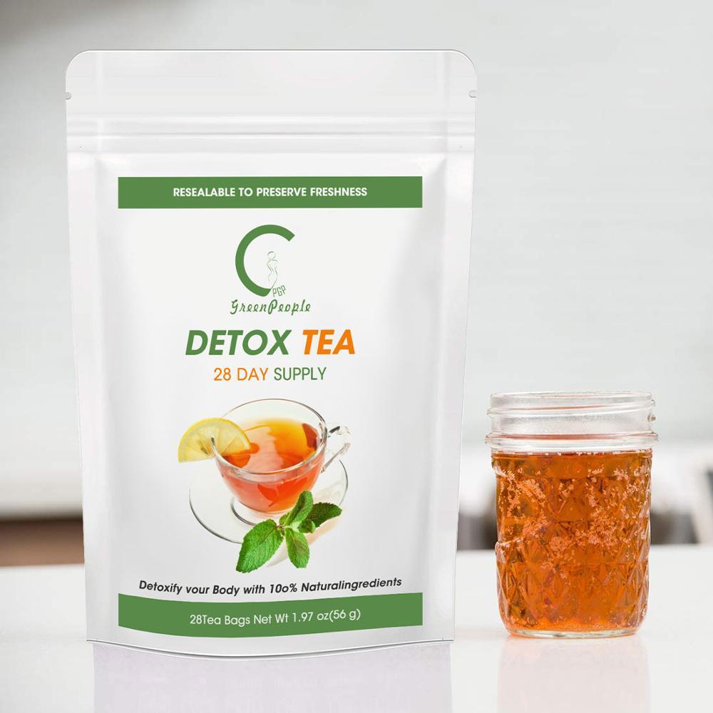1.28€  GreenPeople – thé détox à vitesse extrême, 28 jours, produit minceur, brûleur de graisses, nourrissant pour le ventre, thé aux légumes et...