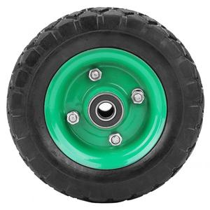 Image 5 - Şişme lastik aşınmaya dayanıklı 6in tekerlek 150mm lastik endüstriyel sınıf aracı arabası arabası lastik tekeri 250kg değiştirilebilir iç tüp