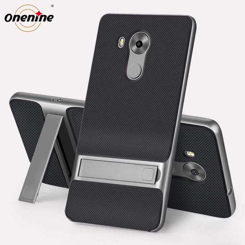 Merek baru 3D Kickstand perumahan untuk Huawei pasangan, 8 kasus penutup, Silikon 6.0 TPU + PC 360 pelindung Fundas Carcasas HuaweiMate8 Mate8