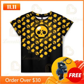 MAX strzelanka 3d koszule chłopcy dziewczęta topy koszulki ubrania dla nastolatków strzelaj Shark Leon Star odzież dziecięca T-shirt dziecięcy tanie i dobre opinie Poliester CN (pochodzenie) Nowość Drukuj REGULAR O-neck Krótki Pasuje prawda na wymiar weź swój normalny rozmiar Unisex