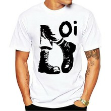 Camiseta 2021 skinhead punk rock oi ska unissex cinza s-3XL