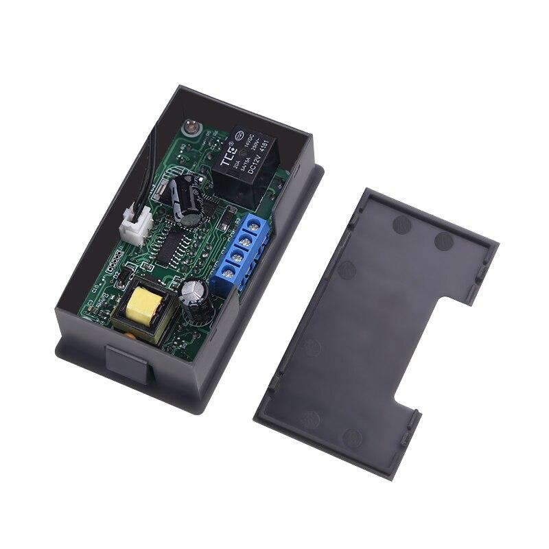 W3230 Mini Digital Temperature Controller 12V 24V 220V Thermostat Regulator Heating Cooling Control Thermoregulator With Sensor