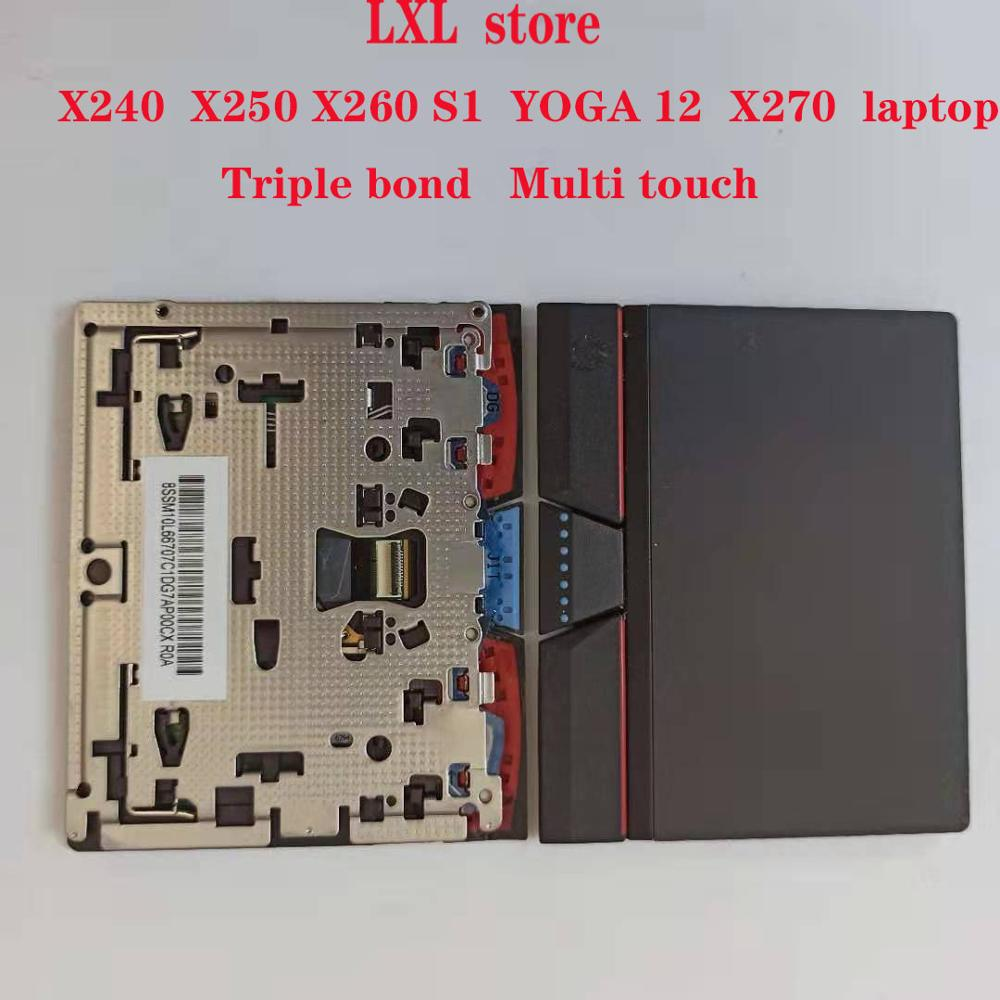 X240 X250 X260 S1 YOGA12 X270 Touchpad  For Lenovo Thinkpad Laptop Touchpad With Multi Touch Triple Bond  100%Original