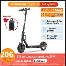 Iscooter-patinete eléctrico plegable para adultos, patinetes eléctricos inteligentes de 8,5 pulgadas y 350W