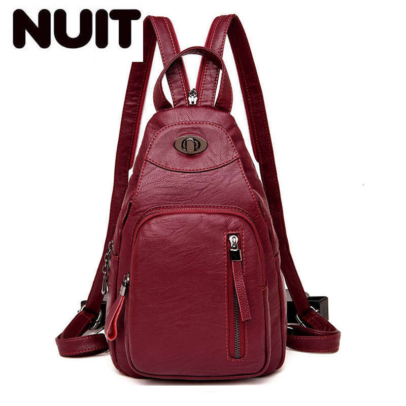 Women Vintage Backpacks High Quality Leather Backpacks For Teenage Girls Sac A Main Female School Shoulder Bags Backpack