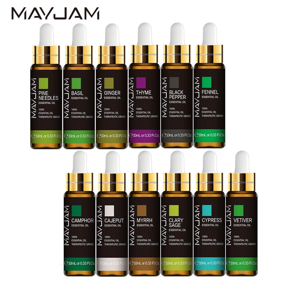 10ML oli essenziali per il corpo di salvia naturale pura olio di massaggio di cipresso 1