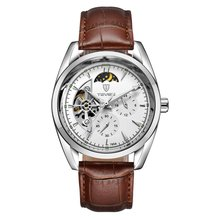 TEVISE Men Watch Tourbillon Automatic Le