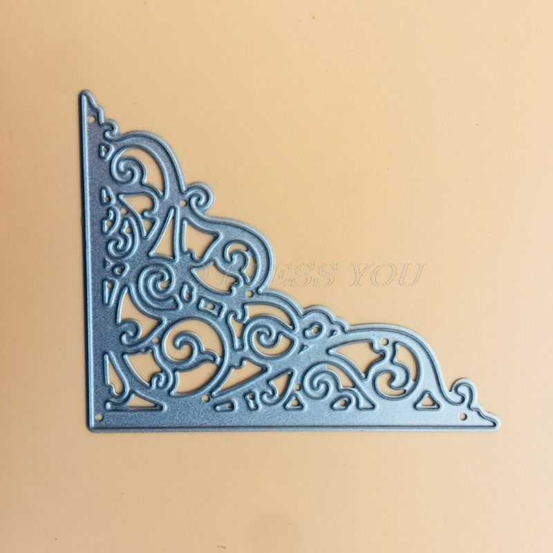 Cards Corner Metal Cutting Dies Stencil for DIY Scrapbooking Album//Photo Deco S/&
