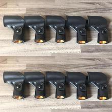 """10 قطعة/الوحدة Hiqh جودة ميكروفون حامل قصاصة يناسب ل Shure A25D ، SM58 ، SM57 وغيرها من 3/4 """"بوصة ميكروفون"""