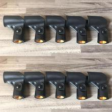 """10PCS /LOT Hiqh quality Microphone Clip Holder fits for Shure A25D, SM58, SM57 & other 3/4"""" inch microphone"""