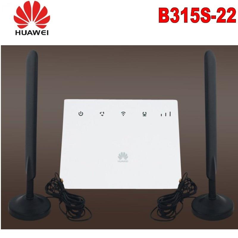 Set of Unlock Huawei B315 Huawei 4g portable wireless router huawei b315s 22 lte wifi router