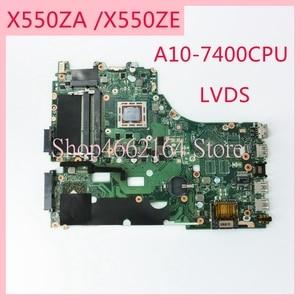 Image 1 - X550ZA anakart REV2.0 ASUS X550ZA A10 7400CPU Laptop anakart X550 X550Z X550ZE dizüstü anakart tamamen test edilmiş