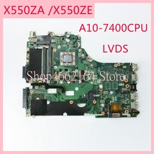 X550ZA motherboard REV2.0 For ASUS X550ZA A10 7400CPU Laptop motherboard X550 X550Z X550ZE Notebook mainboard fully tested