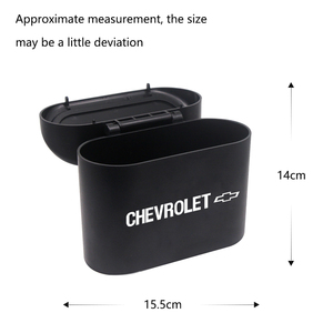 Image 5 - Car Trash Can Storage Box Auto Garbage Bag Cleaning Supplies For Chevrolet Cruze Captiva Lacetti spark Aveo Orlando Epica