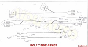 Image 4 - PER MQB Golf 7 MK7 CAMBIO di CORSIA LATERALE SISTEMA di ASSISTENZA Blind Spot ASSIST SET KIT di AGGIORNAMENTO
