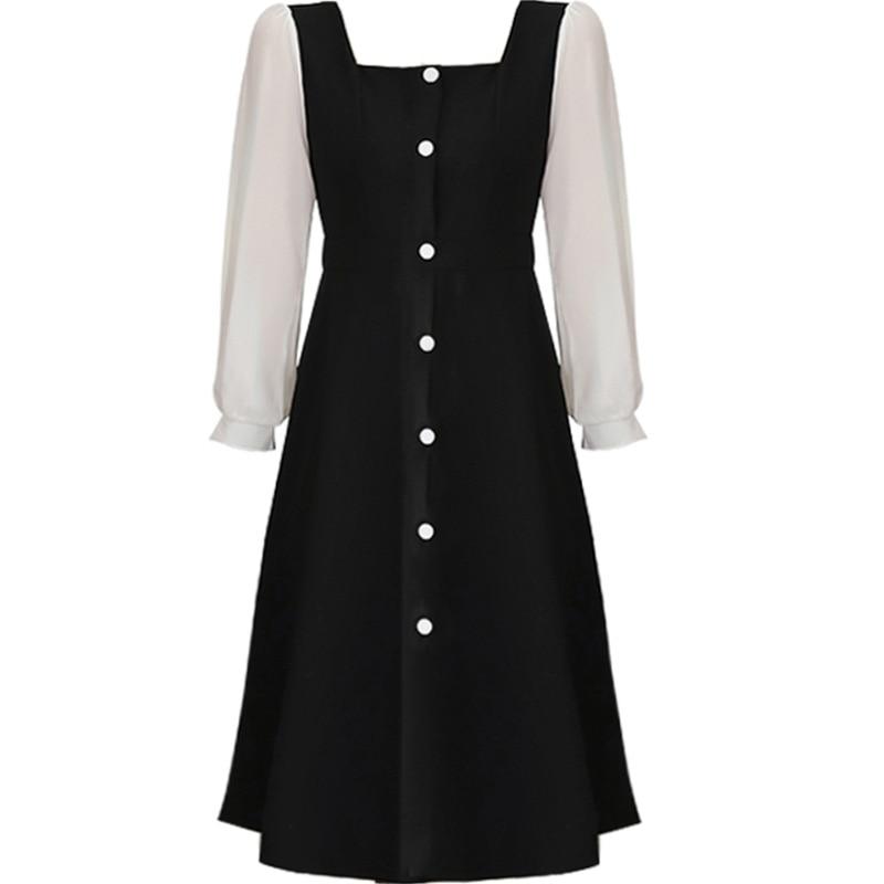 Japanese School Uniform Class Girls Maid Sailor Navy Style Cosplay Clothes Long Sleeve Shirt Black Dress Students Fashion Dress