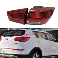 For KIA Sportage R 2014 2015 2016 Rear Tail lights Left/Right turn signal taillights Bumper Light Warning Light Brake Light все цены