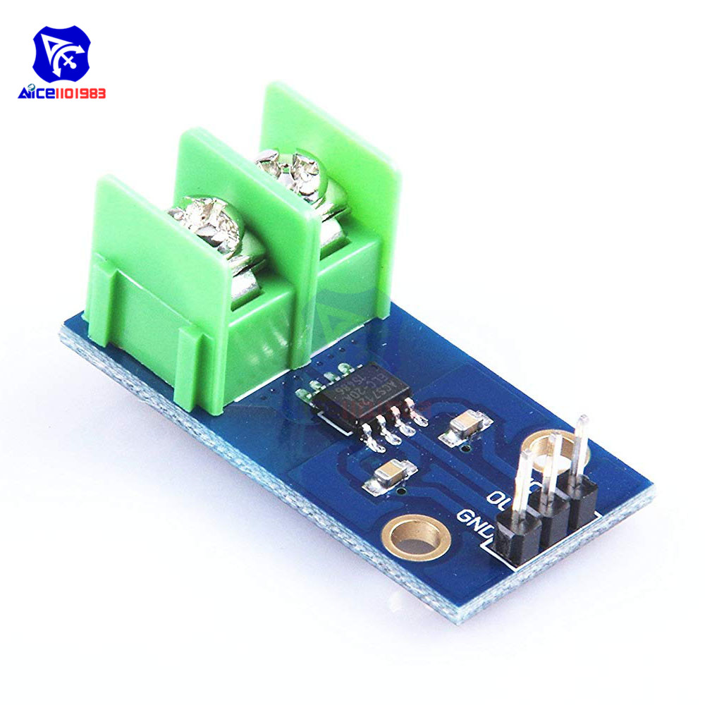 Diymore GY-712 30A Current Range Hall Current Sensor Module ACS712 Module For Arduino