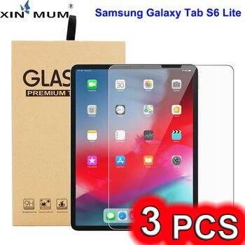3 Pcs Anti-Scratch Tempered Glass Screen Protector for Samsung Galaxy Tab S6 Lite 10.4 SM-P610/P615 Screen Protective Film protective clear screen protector for samsung galaxy note 3 n9000 n9005 transparent 3 pcs