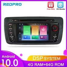 """7 """"HD Android 10.0 DVD Dellautomobile Per Seat Ibiza 2009 2010 2011 2012 Auto Radio FM RDS Stereo WiFi GPS di Navigazione Audio Video headunit"""