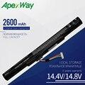 Apexway 14 8 V al15a32 ноутбук Батарея для acer Aspire E5-522 E5-522G E5-532 E5-532T E5-573 KT.00403.025 KT.00403.034 KT.004B3.025
