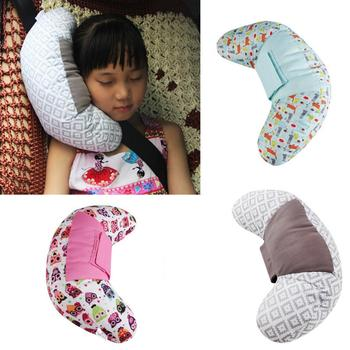 Children Car Pillow Styling Neck Headrest Cushion Baby Seat Belts Kids Shoulder Safety Strap Protection Pads Support