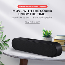 лучшая цена LIFE New Mini Wireless Speaker Bluetooth Speaker Portable Sound System 8D Stereo Music Surround Support Bluetooth 5.0, TF AUX US