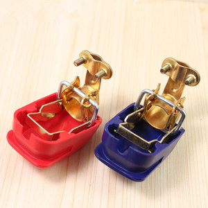 Universal 1 Pair 12V Quick Release Battery Terminals Clamps for Car Caravan Boat Motorcycle Car-styling(China)