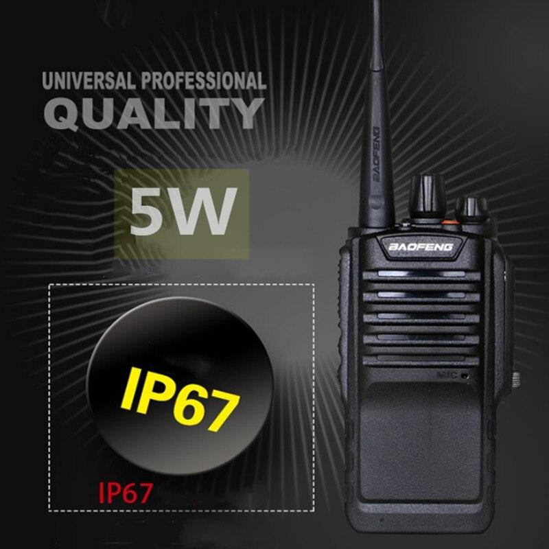 50 20 km longo alcance uv9r portátil rádio em dois sentidos caça