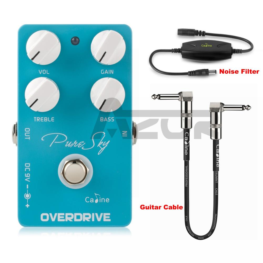 Caline Pure Sky OD guitare pédale effet CP-12 Pure et propre Overdrive guitare pédale guitare accessoires effet pédale