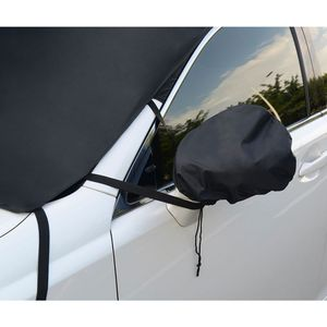 Car Snow Ice Protector Front Rear Windshield Cover Block Shields Winter Windshield Cover Visor Sun Shade Shield Windshield Car Covers     -